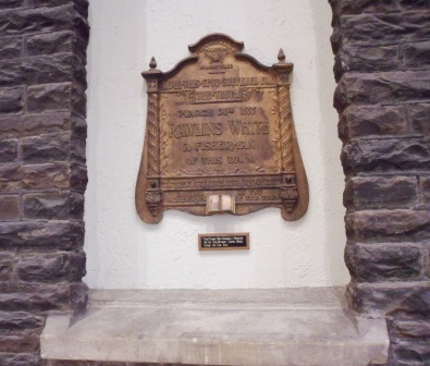 Cardiff's Martyr's Memorial