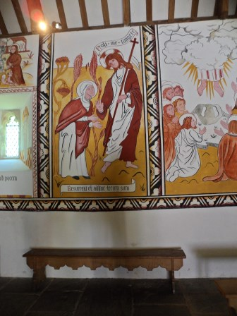 St Teilo's Church – the writing on the wall